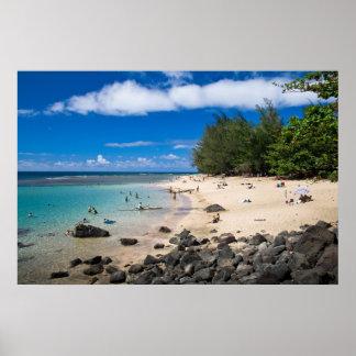 Ke'e Beach, Kaua'i Poster