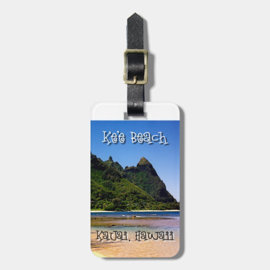 Ke'e Beach - luggage tag