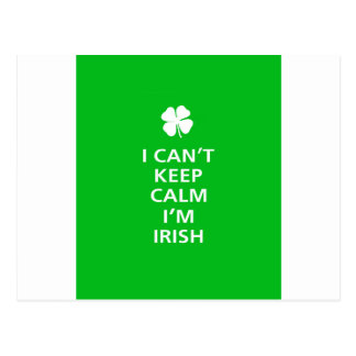 Kee Calm Im Irish Postcard
