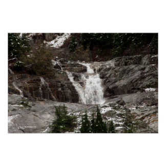 Keekwulee Falls, Washington, USA Poster