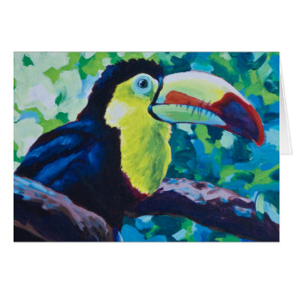 Keel-Billed Toucan Card