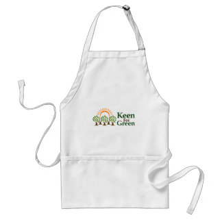 Keen For Green Adult Apron