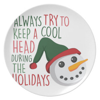 Keep A Cool Party Plate