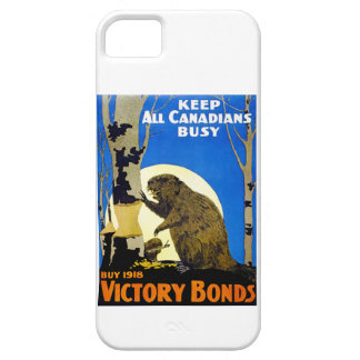 Keep All Canadians Busy iPhone 5 Covers
