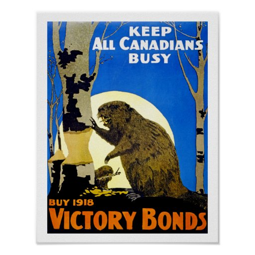 Keep All Canadians Busy Print