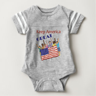 Keep America Great Adult Parade Baby Bodysuit
