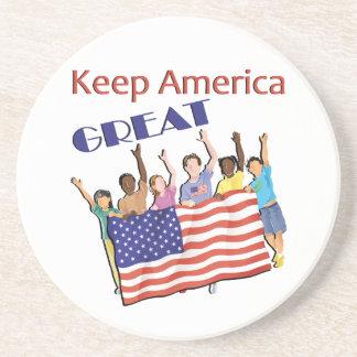 Keep America Great Adult Parade Coaster