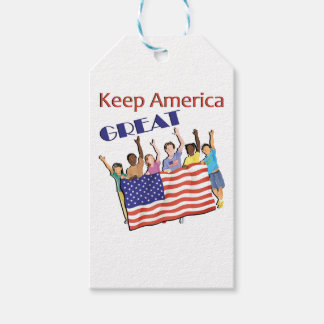 Keep America Great Adult Parade Gift Tags