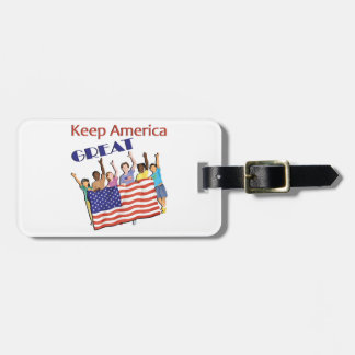 Keep America Great Adult Parade Luggage Tag