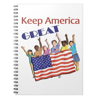 Keep America Great Adult Parade Notebook