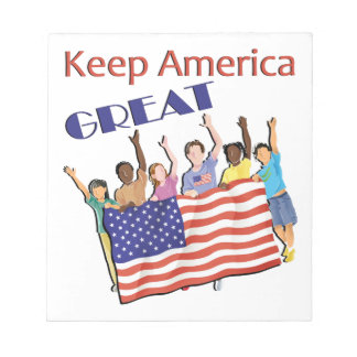 Keep America Great Adult Parade Notepad