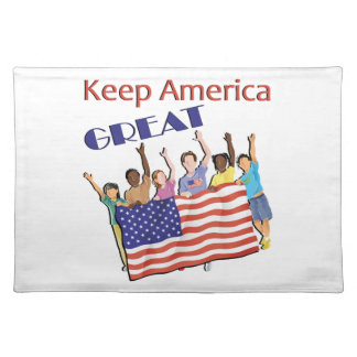 Keep America Great Adult Parade Placemat