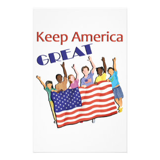 Keep America Great Adult Parade Stationery