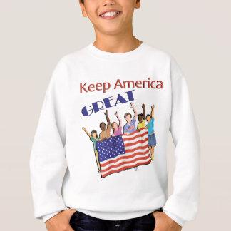 Keep America Great Adult Parade Sweatshirt