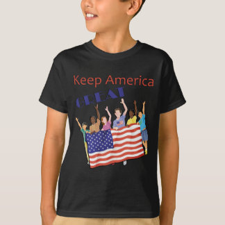 Keep America Great Adult Parade T-Shirt