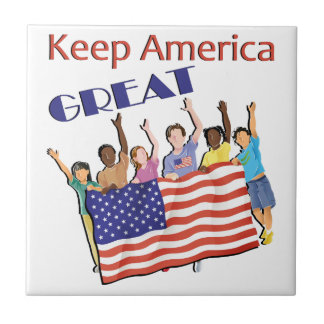 Keep America Great Adult Parade Tile