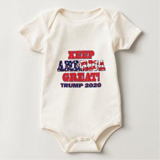 Keep-America-Great-Trump Baby Bodysuit