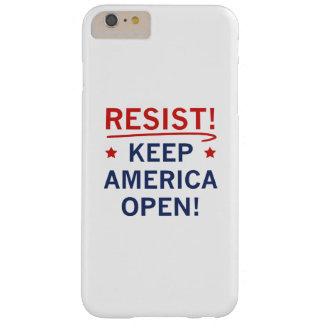 Keep America Open Barely There iPhone 6 Plus Case