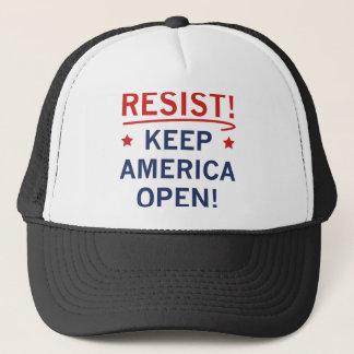 Keep America Open Trucker Hat