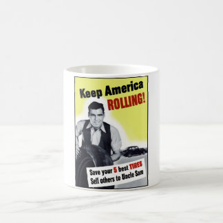Keep America Rolling Coffee Mug