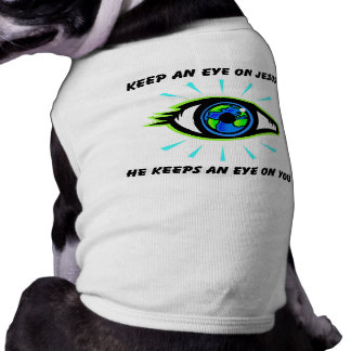 Keep an eye on Jesus christian gift Doggie Tee
