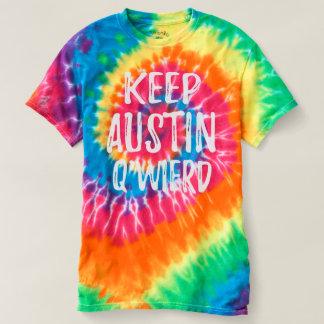 """""""Keep Austin Q'Weird"""" T-shirt"""