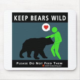 Keep Bears Wild Mouse Pad