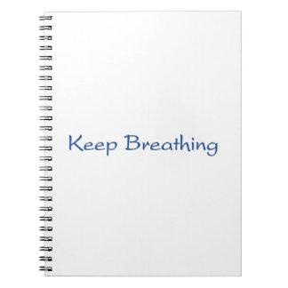Keep Breathing Notebooks