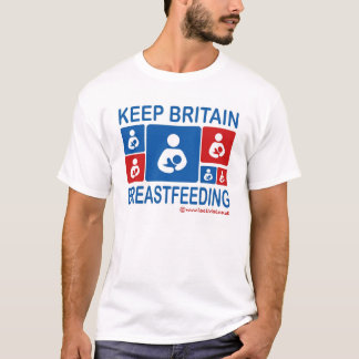 Keep Britain Breastfeeding T-Shirt