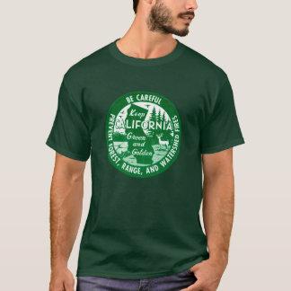Keep California Green + Golden T-Shirt