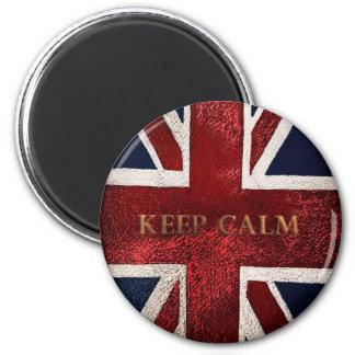 Keep Calm 2 Inch Round Magnet