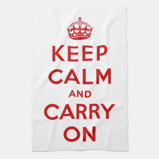 Keep Calm American MoJo Kitchen Towel