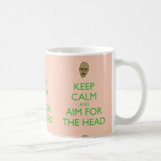 Keep Calm and Aim for the Head Mug