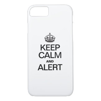 KEEP CALM AND ALERT iPhone 7 CASE