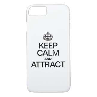 KEEP CALM AND ATTRACT iPhone 7 CASE
