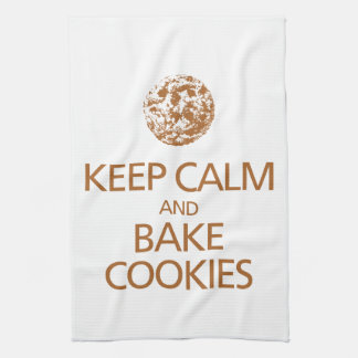 Keep Calm and Bake Cookies Kitchen Towel