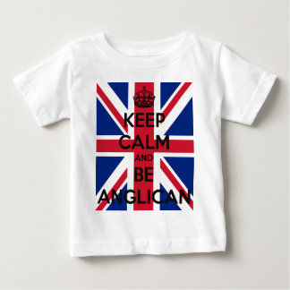 Keep Calm and be Anglican Baby T-Shirt