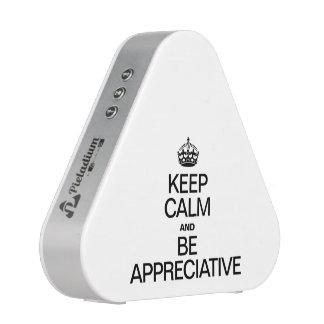 KEEP CALM AND BE APPRECIATIVE BLUETOOTH SPEAKER