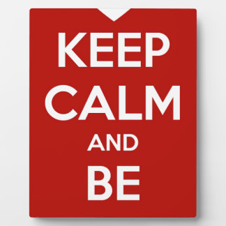 Keep Calm and Be My Valentine Plaque
