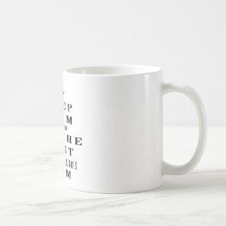 Keep calm and be the best Belgian Malinois mom Coffee Mug