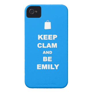 Keep Calm and be WHO YOU ARE! iPhone 4 Case