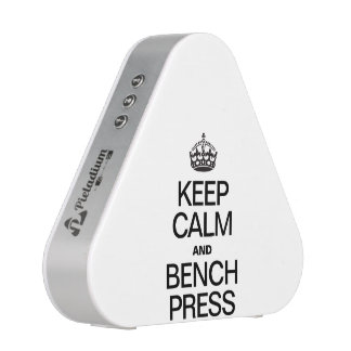 KEEP CALM AND BENCH PRESS BLUEOOTH SPEAKER