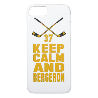 Keep Calm and Bergeron iPhone 7 case