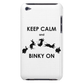 Keep Calm and Binky On iPod Touch (choose color) iPod Case-Mate Case