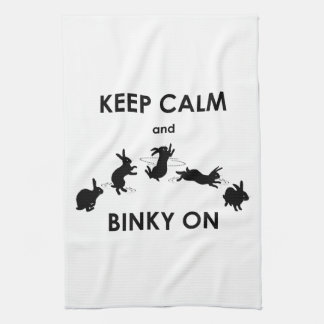 Keep Calm and Binky On Kitchen Towel