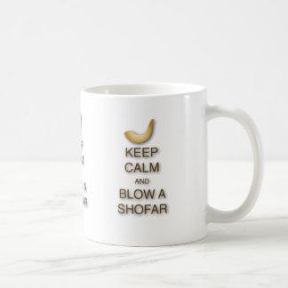 Keep Calm and Blow a Shofar Mug