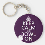 Keep Calm and Bowl On - all colours