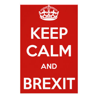 Keep Calm and Brexit Custom Stationery