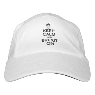 Keep Calm and Brexit On - -  Headsweats Hat