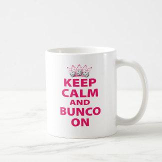 Keep Calm and Bunco On Design Mug